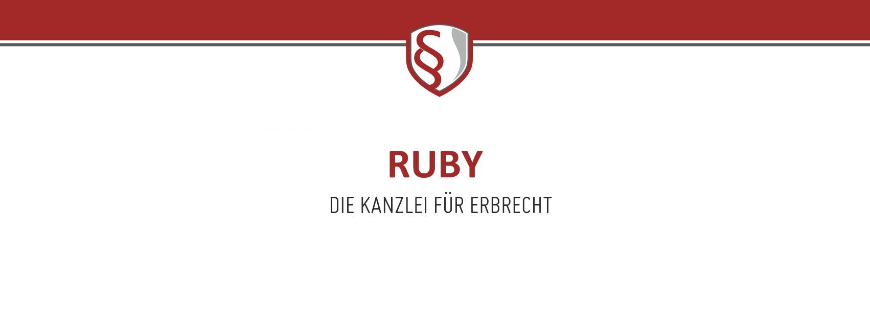 Ruby: Kanzlei für Erbrecht